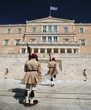 Changing of the Guards at Syntagma Square