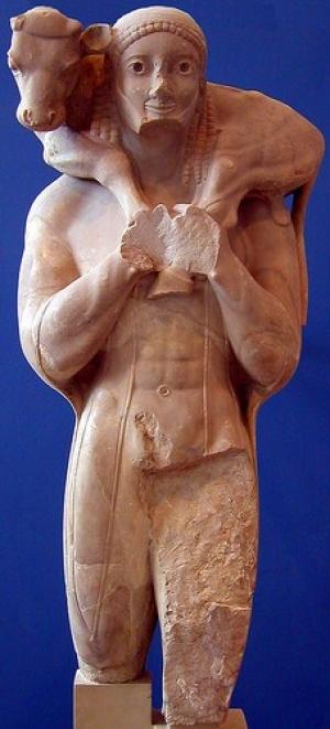 Moschophoros 'Calf-Bearer'