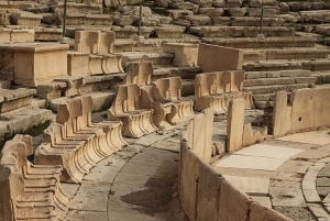 Priests Seating at Dionysus Theatre