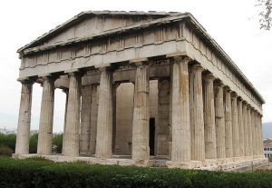 Temple of Hephaistos at The Ancient Agora