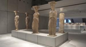 The Karyatides, New Acropolis Museum