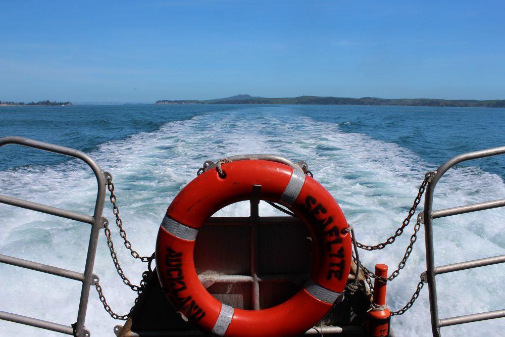 Ferry To Waiheke Island