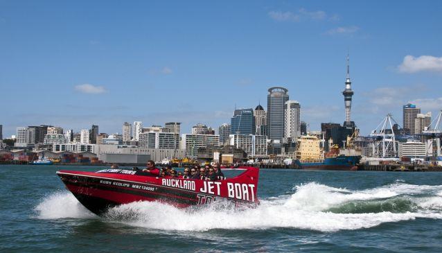 Auckland Jet Boat Tours
