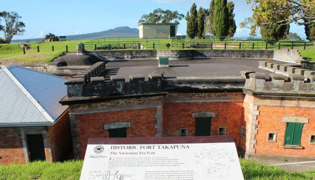 Fort Takapuna Historic Reserve
