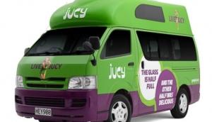 Jucy Campervan Hire Auckland