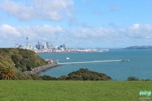 View from Michael Joseph Savage Memorial Park