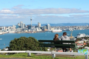 View from Mount Victoria Reserve