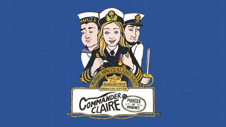 Commander Claire & the Pirates of Provence