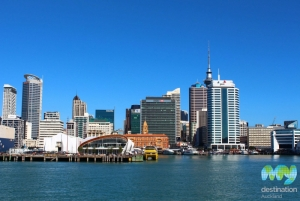 Auckland from the ferry