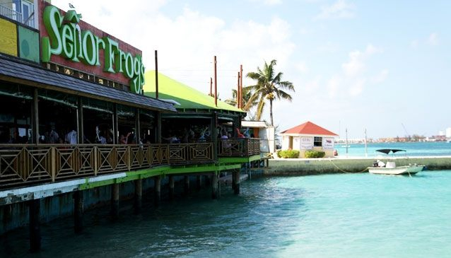 Senor Frogs, Downtown, Nassau, Bahamas
