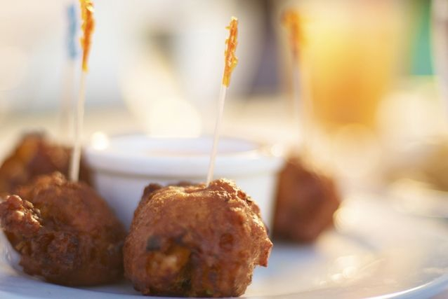 Conch Fritters, Bahamas