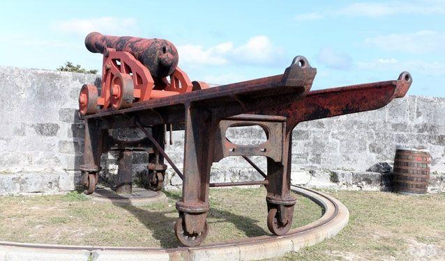 Fort Charlotte Cannon, Nassau, Bahamas