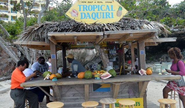 Tropical Daquiri, Nassau, Bahamas