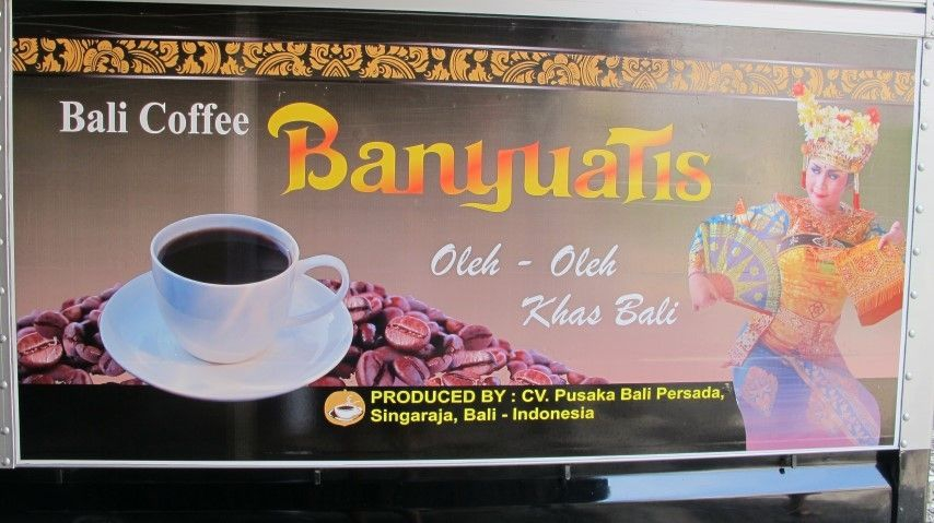 When in Bali drink Bali Coffee
