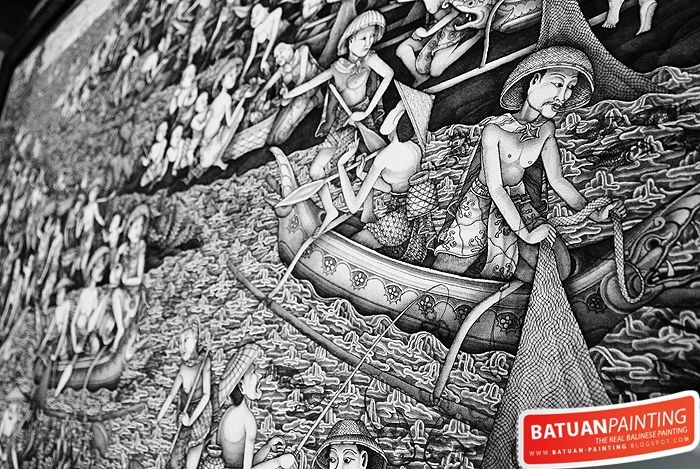 Batuan painting by Apel Photography