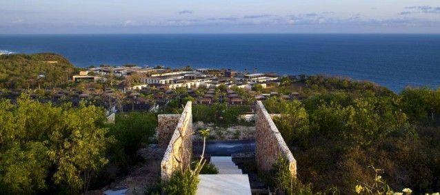 Alila Uluwatu Resort blends in with the landscape