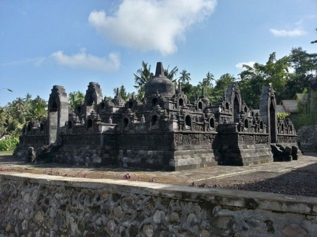 Replica Borobudur Temple