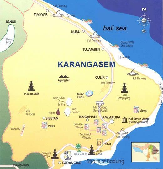 Karangasem in East Bali