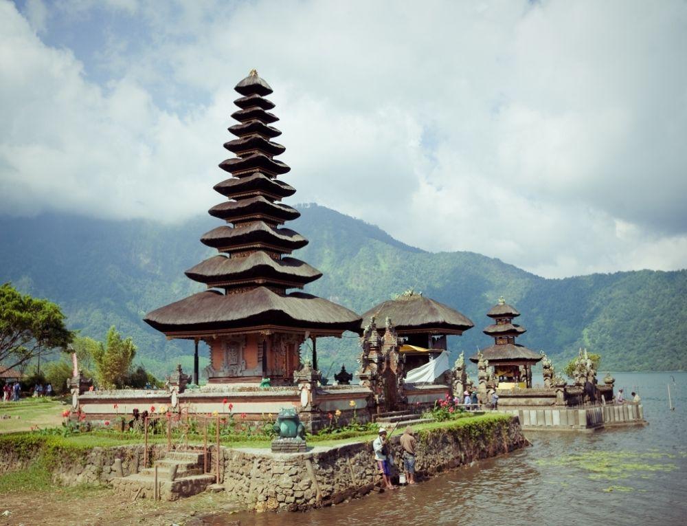 Ulun Danu Temple Beratan Lake, Bali