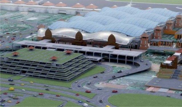 A fitting tribute - new Ngurah Rai Airport buildings