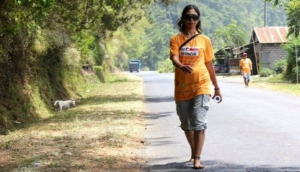Walking for Disadvantaged in Bali