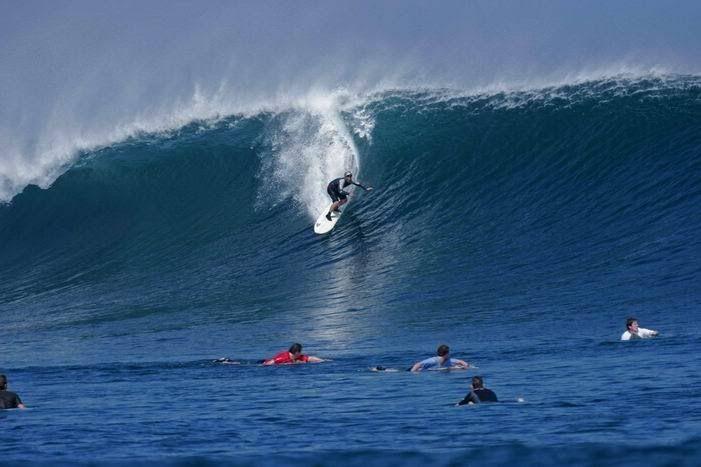 Big one off Bali north-west
