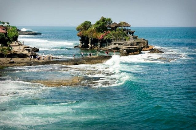 Tanah Lot Temple near Tabanan