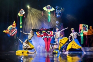 Devdan at Bali Nusa Dua Theatre
