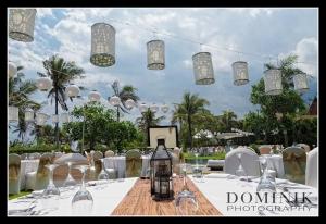 Gala garden wedding