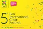 5th Bali International Choir Festival 2016