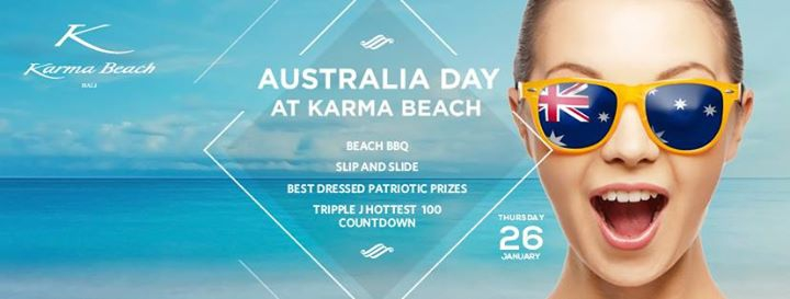 Australia Day at Karma Beach