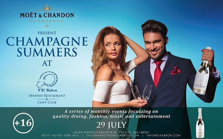 Champagne Summers at El Kabron - Saturday 29th July