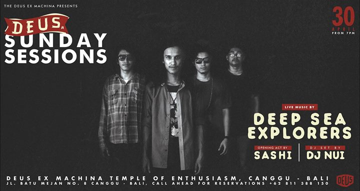 Deus Sunday Sessions with Deep Sea Explorers