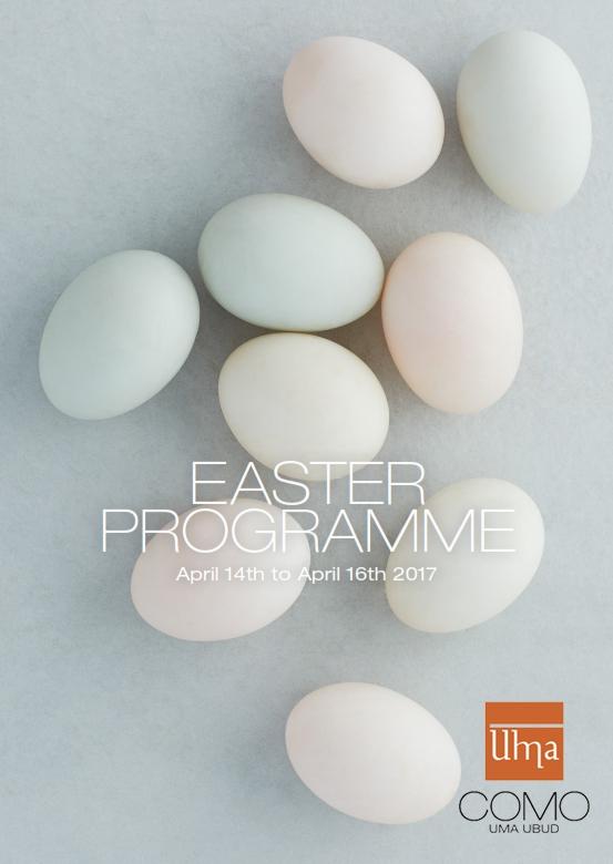 Easter Egg Hunt at COMO Uma Ubud