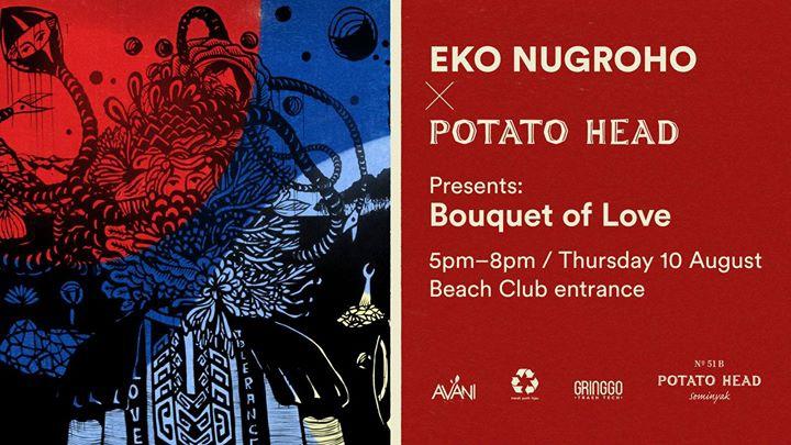 Eko Nugroho x Potato Head: Bouquet of Love