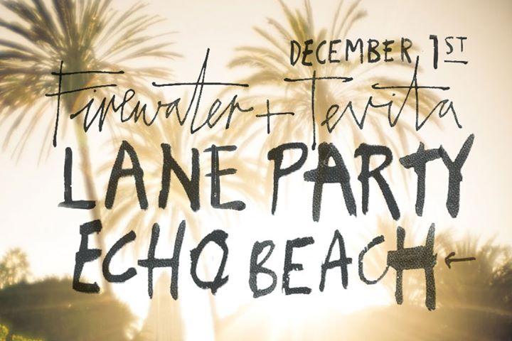 Firewater + Tevita Lane Party