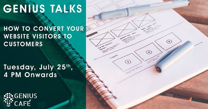 Genius Talk: How to convert your website visitors to customers