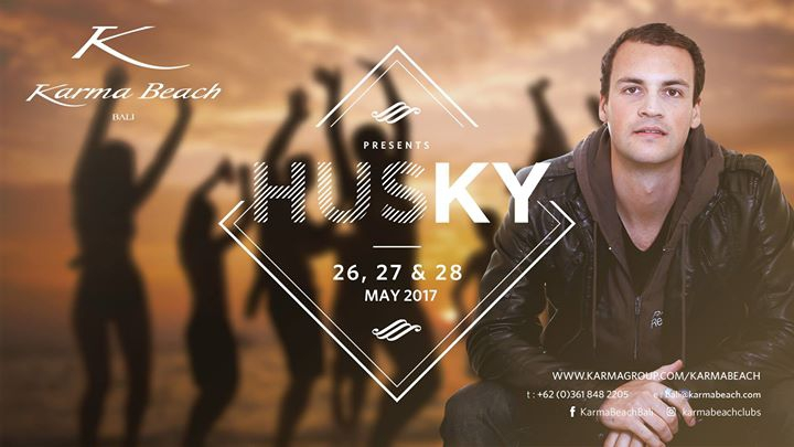 Karma Beach Bali presents DJ Husky!