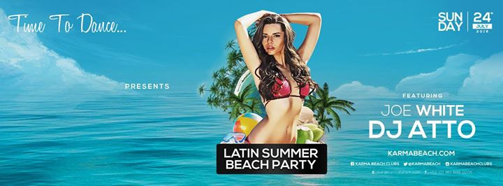 Karma Beach Presents Latin Summer Beach Party