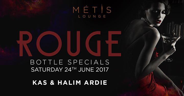 Rouge Saturdays at Metis Lounge