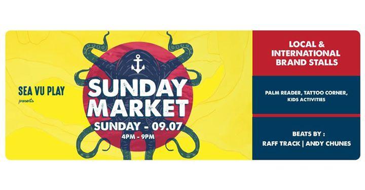 Sea Vu Play presents: Sunday Market No 5