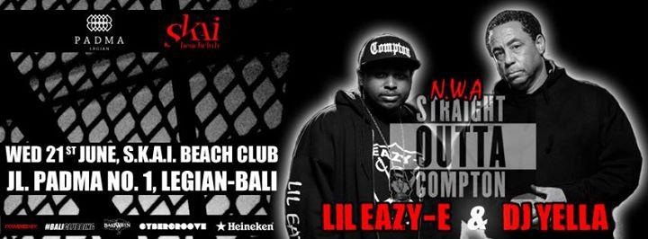 Straight Outta Compton with DJ Yella & Lil Eazy E