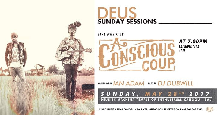 Sunday Sessions with Conscious Coup