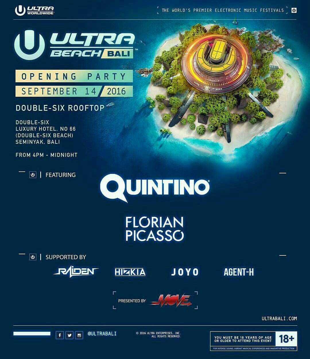 ULTRA BALI Opening Party