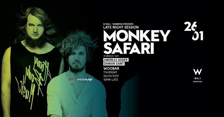 W Bali Presents Monkey Safari