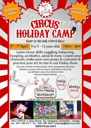 Easter Circus Camp 2017