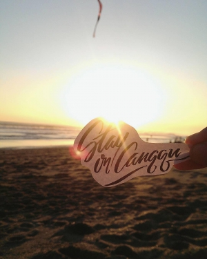 LEARN UNIQUE BRUSH LETTERING AND CALLIGRAPHY WITH OSH - A LOCAL ARTIST IN BALI