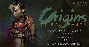 MÉTIS Lounge presents: Origins Tribal Party