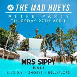 The Mad Hueys - Komune Bali Pro after party