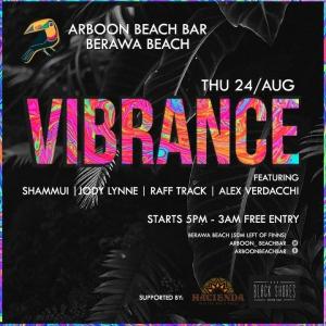 Vibrance at Arboon Beach Bar